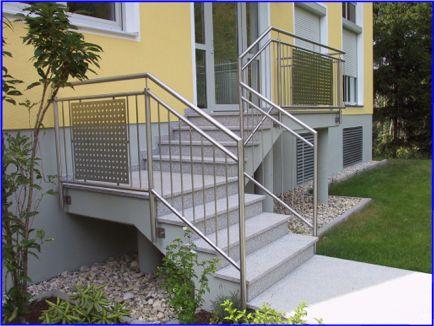 Treppengeländer innen und außen